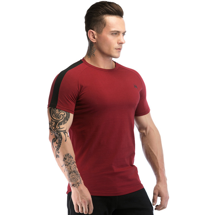 Dry Fit Muscle Men's Athletic T Shirts Wholesale