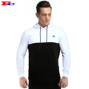 Mens Blank Tracksuits Cotton Polyester Pullover Athletic Hoodie