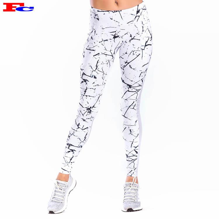 Marble Mesh Womens Yoga Pants Wholesale