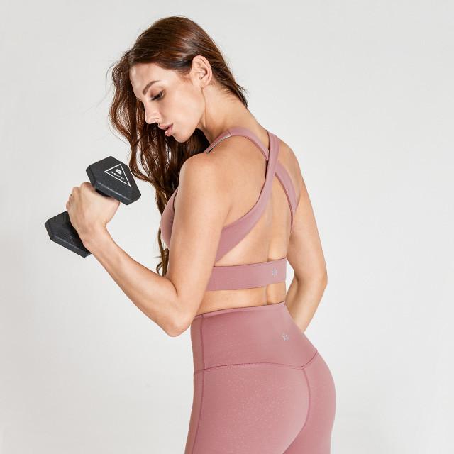 Flesh Pink Gym Clothes Wholesale