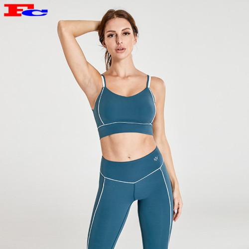 Fabricants de vêtements de sport bleu océan