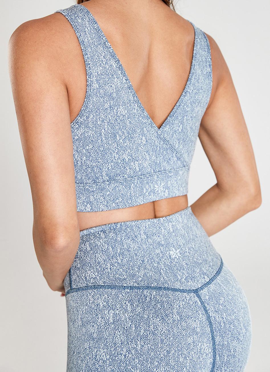 Fabricant de gris bleu actif et Yogawear