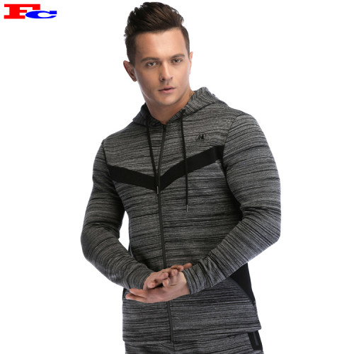 Wholesale Track Jackets Double Faced Mens Tracksuit