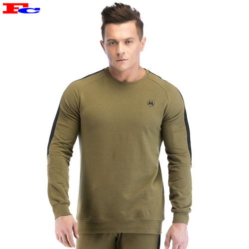 Grass Green Long Sleeve Mens Fashion Tracksuit Wholesale