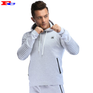 Mens Fleece Pullover  With Pocket Cheap Gym Hoodies
