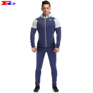 Blue And White Patchwork Tracksuit Suppliers