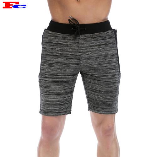 Cotton Polyester Mens Fleece Gym Shorts Wholesale