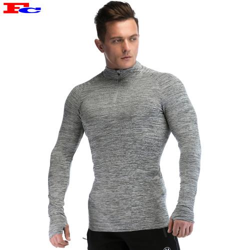 Half High Collar Zipper Mens Track Jackets Wholesale