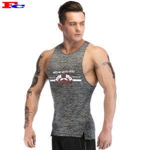 Printing Mens Workout Tank Tops Wholesale