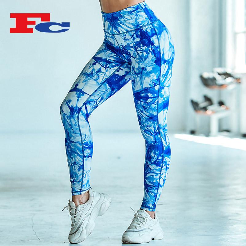 Funky Graffiti Print Workout Pants Wholesale Fashion Leggings Suppliers