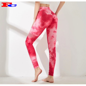 New Fashion Tie Dye Yoga Pants Set Leggings Factory