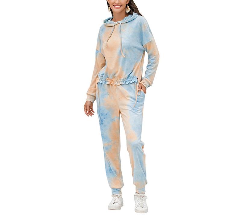 Trendy Women Tie Dye Fitness Apparel Manufacturer