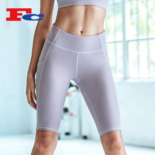 Wholesale Yoga Shorts With Side Pockets