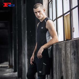 Muscular Men Fitness Crop Tank Top Wholesale Sleeveless T Shirt Wholesale Suppliers