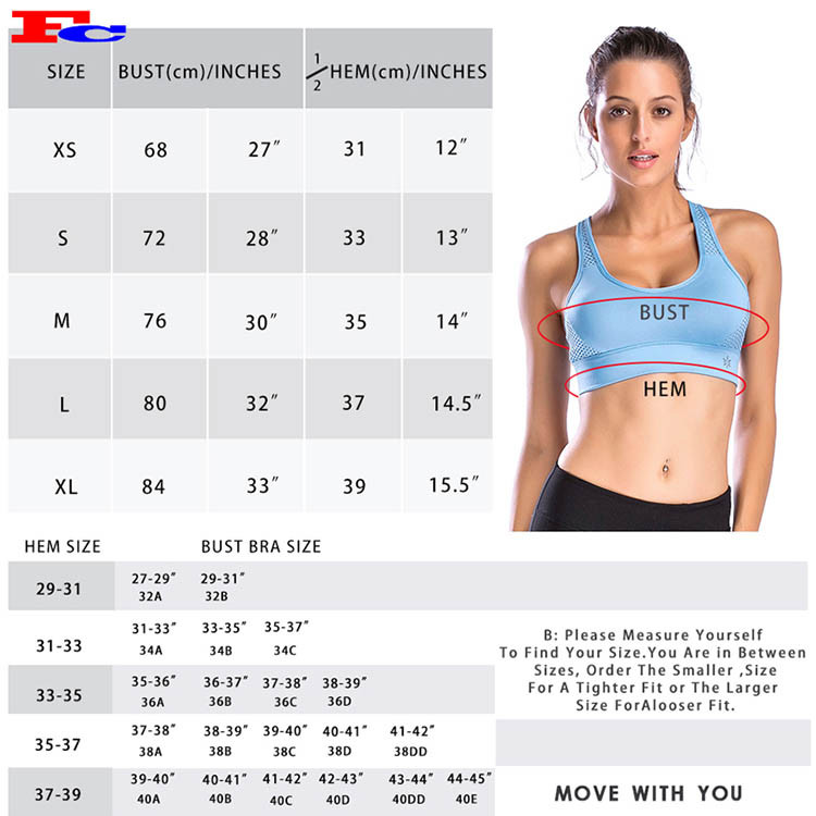 Two-Tone Adjustable Mesh Sports Bras Sold In Bulk