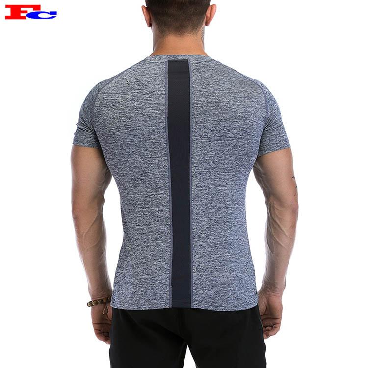 Men's Short Sleeve Dark Grey Best Workout T Shirts