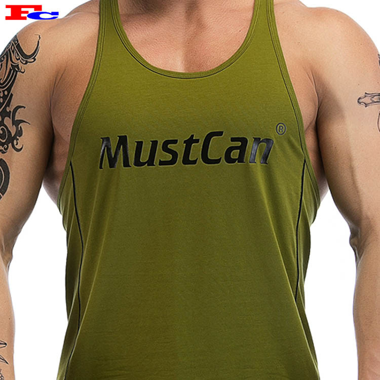 Men's OEM Customized Workout Tank Tops Wholesale
