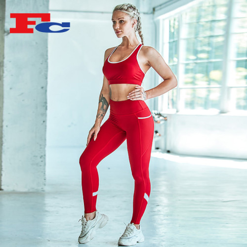 Vêtements de sport à la mode pour femmes personnalisées OEM