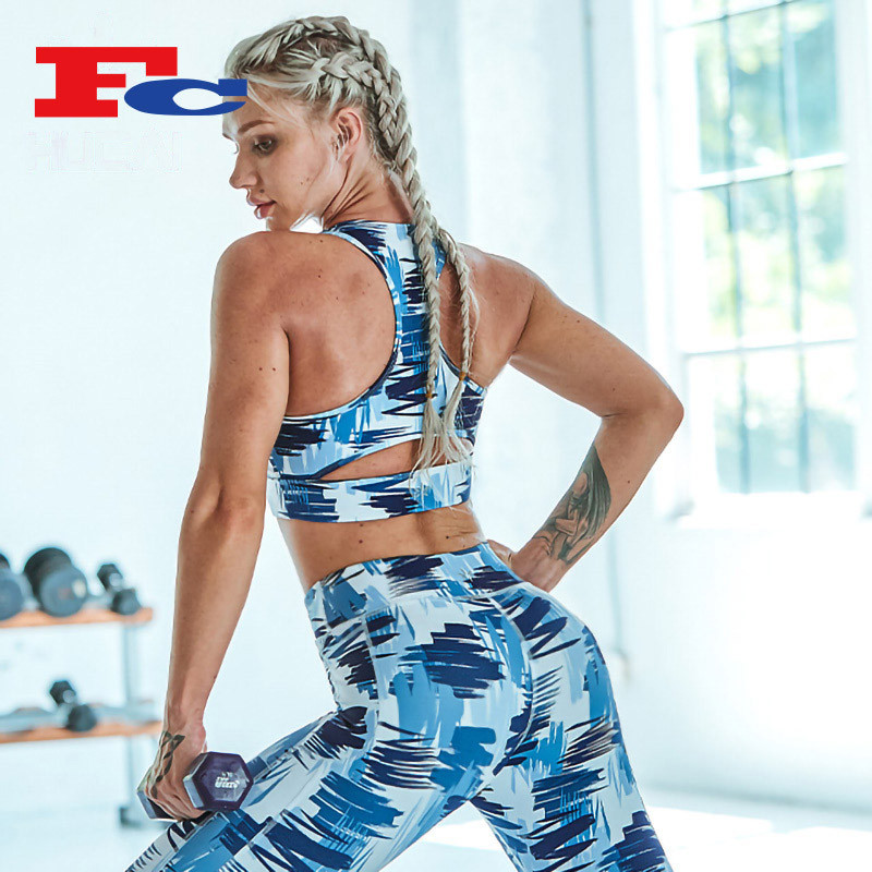 Neue Hot Fashion Digital Print Sport BH Yoga