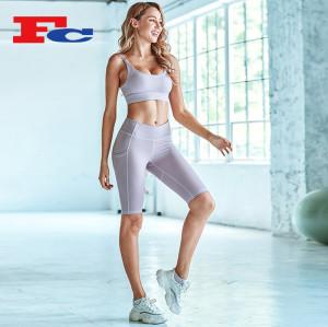 Vêtements de yoga Slim Fit pour femmes Vêtements de fitness