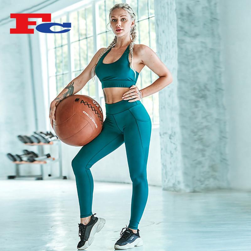Private Label Damen Workout Bekleidung Markenhersteller