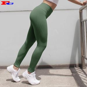 OEM Custom Design Leggings mit hoher Taille zum Verkauf in loser Schüttung