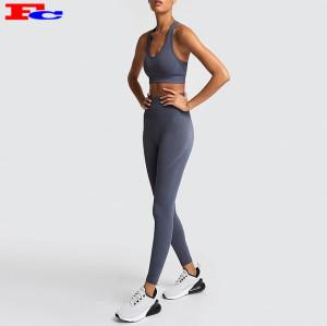 Fengcai Seamless Fitness Activewear Vêtements de sport Fabricant de vêtements de sport