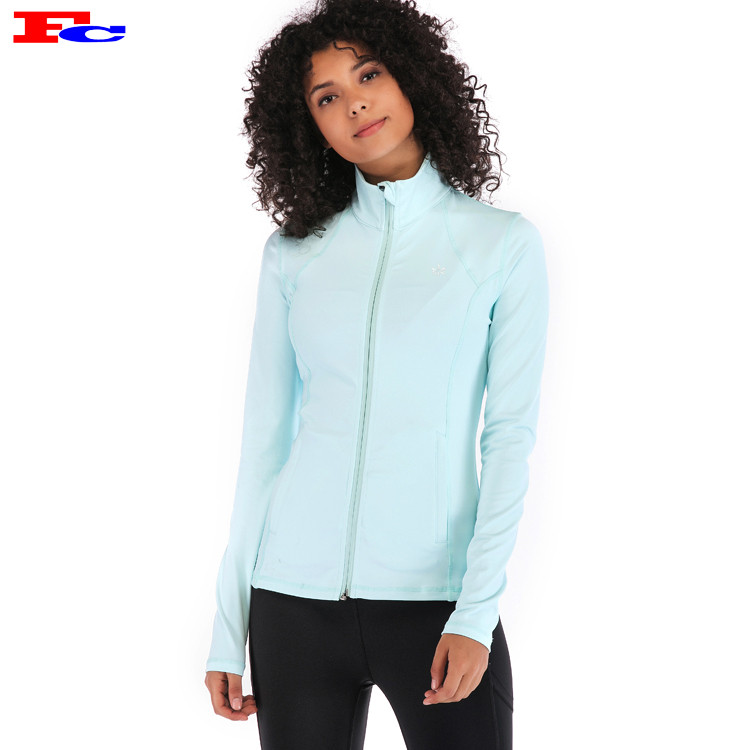 Custom Slim Fit Jackets Wholesale Sportswear Apparel