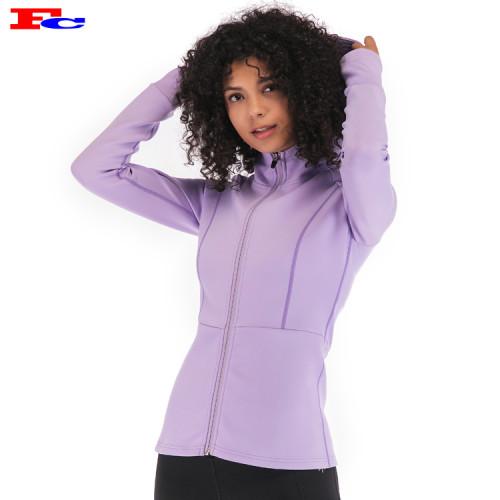 Kundenspezifische Jacken für Frauen Private Label Kleidung Großhändler