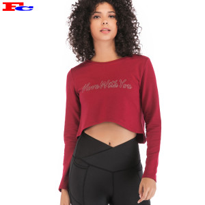 Fengcai Long Sleeve Athletic Shirt For Women Wholesale Or Custom