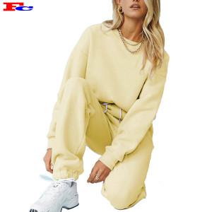 Commerce de gros à la mode sur mesure 2 pièces Survêtements Ensembles d'entraînement pour femmes