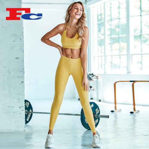 Chine Fournisseur de gros de vêtements de sport Fabricants de vêtements de sport de yoga en gros