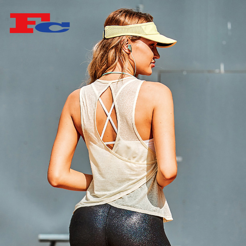 Private Label Trendy Light And Thin Tank Tops For Women