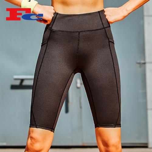 Fengcai New Wholesale Athletic Shorts mit Seitentaschen