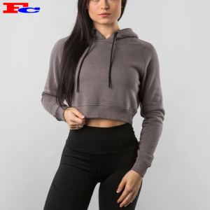 Basic Lightweight Pullover Sweatshirt for Women Cheap Bulk Hoodies