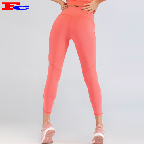 China Supplier High Waist Hip-Lift Pantone Sports Tights Yoga Pants Women