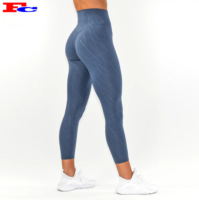 Fengcai Wholesale Custom New Design Tights For Women High Waisted Compression Leggings