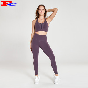 Fengcai New Design Fashionable Fitness Apparel Provide Logo Custom Service