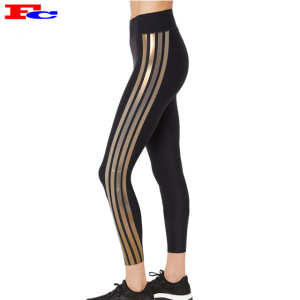 Custom Yoga Pants High Waisted Ladies Workout Tights Private Label Leggings