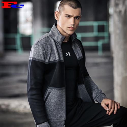 Wholesale Custom Men's Fashion Personalized Track Jackets