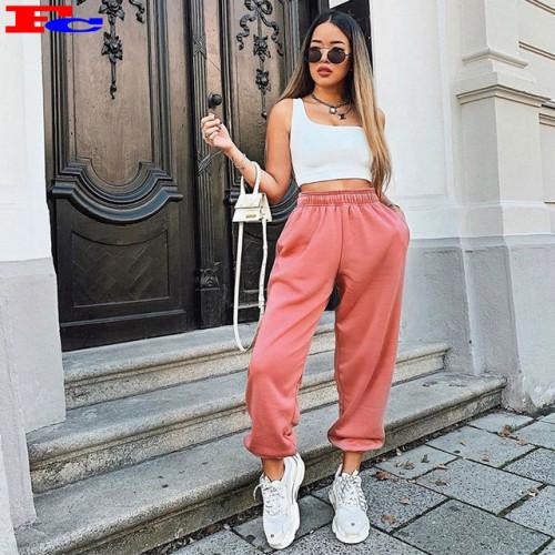 Wholesale Custom Casual Logo Comfy Cotton Harem Cargo Jogger Pants Sportswear Wholesalers