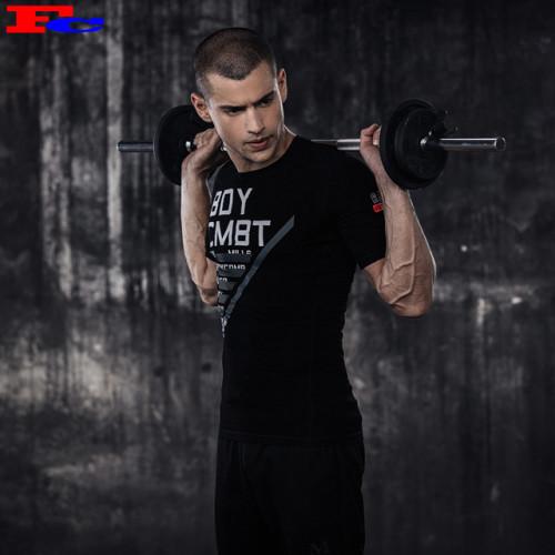 2020 Wholesale Custom Letters Print T Shirts For Men Athletic Fit T Shirts Wholesale