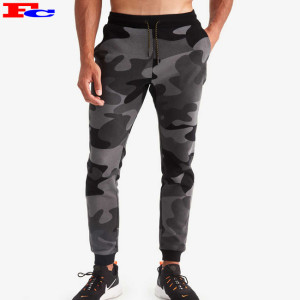 Mens Joggers Wholesale Cotton Digital Printing Camouflage Sweatpants