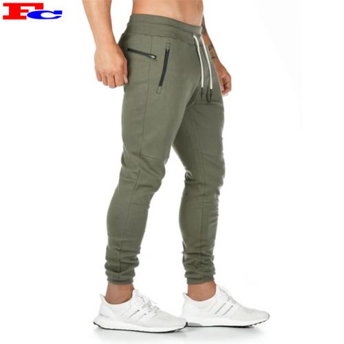 Custom Soft French Terry Fitness Mens Sport Joggers Sweatpants Bulk