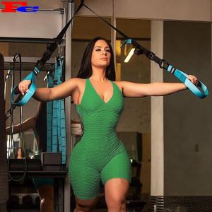 Gym Fit Clothing 2020 Vest Top Short Sets Set Pockets for Women