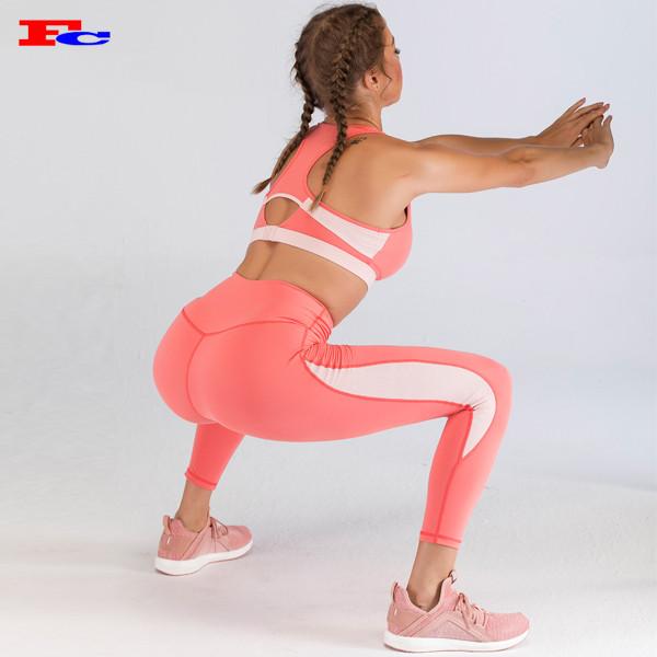Wholesale Legging Vendors Popular Women High Waist Yoga Pants Squat Proof Tights