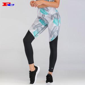 Polyamide Elastane Stretchy Push Up Yoga Pants Sublimation Best Leggings