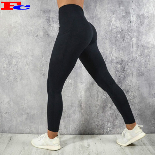High Quality Fitness Sports Tights Workout Women Yoga Tights With Pockets