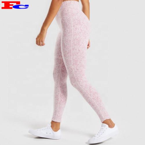 China Manufacturer Sublimation Yoga Exercises Tight Printed Women Leggings Yoga Pants