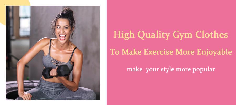 High quality Gym Clothes To Make Exercise More Enjoyable